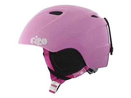 Přilba GIRO SLINGSHOT pink stars