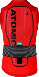 ATOMIC LIVE SHIELD VEST AMID M red, fotografie 1/1