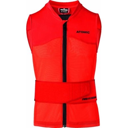 ATOMIC LIVE SHIELD VEST M red
