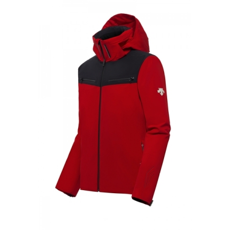 DESCENTE SWISS SKI red