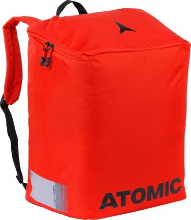 ATOMIC BOOT & HELMET PACK red