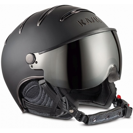 PŘILBA KASK CHROME black