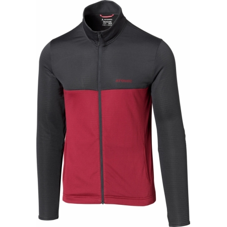 ATOMIC ALPS JACKET anthracite/rio red