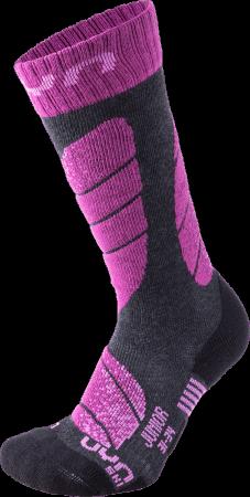 UYN SKI JUNIOR anthracit/violet