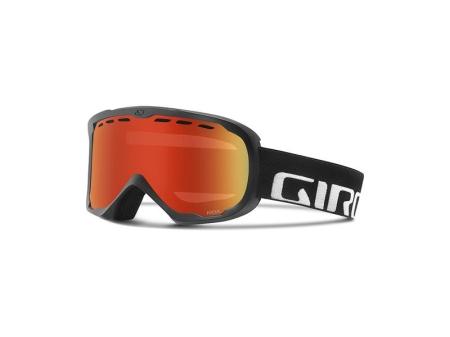 Brýle GIRO FOCUS black wordmark/amber scarlet