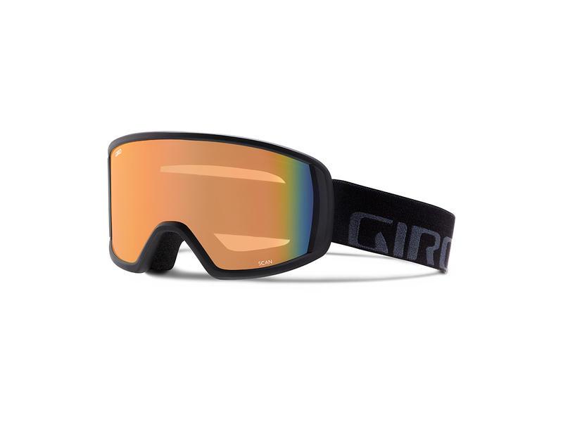 Brýle GIRO SCAN black wordmark/persimmon blaze