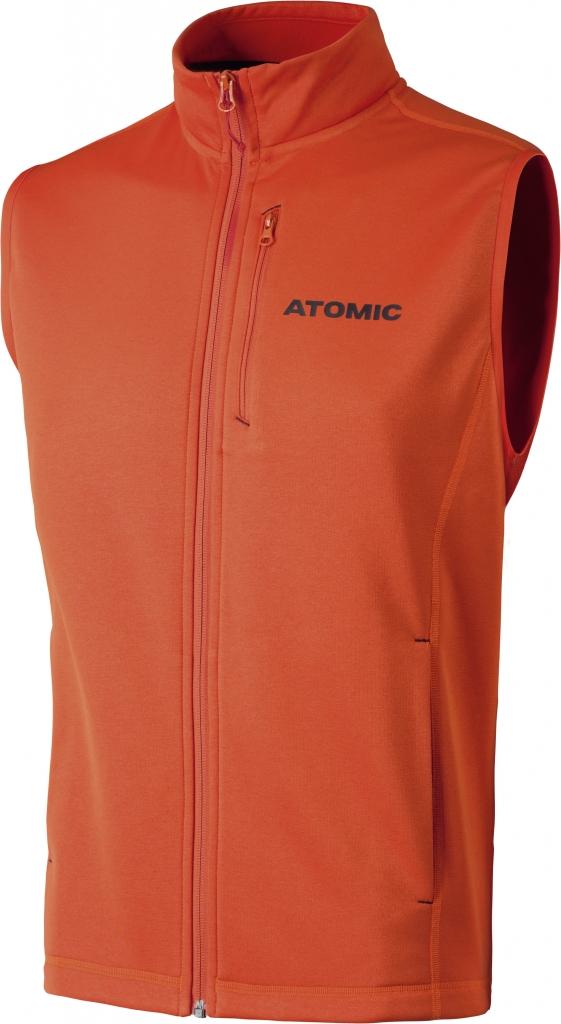 ATOMIC  ALPS FLEECE VEST bright red/black 17/18
