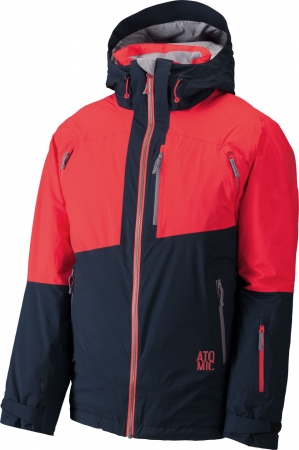 BUNDA ATOMIC TREELINE 2L LIGHT JACKET M ČERVENÁ