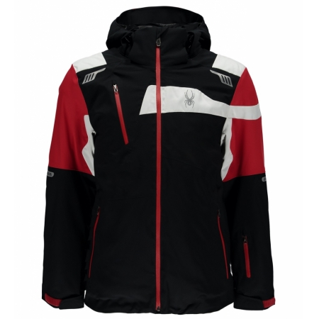 SPYDER TITAN JACKET black/red/white