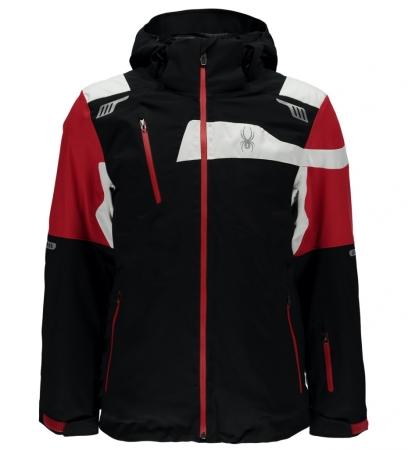 SPYDER TITAN JACKET black/red/white