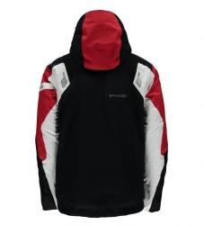 SPYDER TITAN JACKET black/red/white, fotografie 1/2