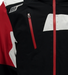 SPYDER TITAN JACKET black/red/white, fotografie 3/2